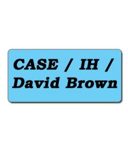 Case /IH/ David Brown