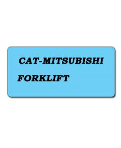 CAT-Mitsubishi Forklift