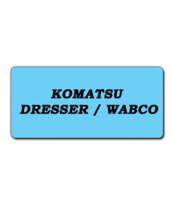 Komatsu Dresser/Wabco