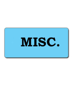 Miscellaneous Manufacturers