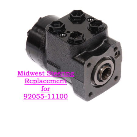 92055-11100RE: Midwest Steering Replacement for 92055-11100, UE-T1-D, 92055-01100 Steering Valve