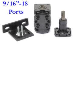 "RS91125B-RCK 7.56 cu. in. Hydraulic Steering Valve Kit 9/16""-18 Ports"